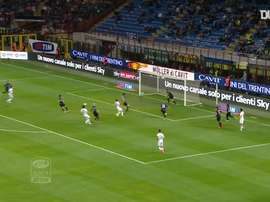 Bologna's best away goals against Inter. DUGOUT