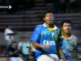 Percy Olivares marcó este gol en la Libertadores. Dugout