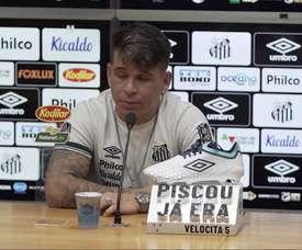 Soteldo enaltece elenco do Santos após vitória. DUGOUT