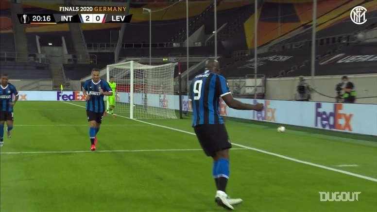 Romelu Lukaku has made Europa League history. DUGOUT