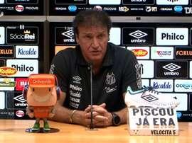 Em entrevista após empate em estreia, Cuca analisou os casos de Sánchez e Uribe. DUGOUT