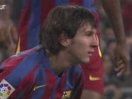 Le premier Clasico de Messi. DUGOUT