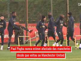Altos e baixos de Paul Pogba no Manchester United. DUGOUT