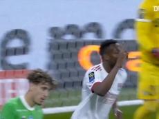 Tino Kadewere's brace vs Saint-Etienne. DUGOUT