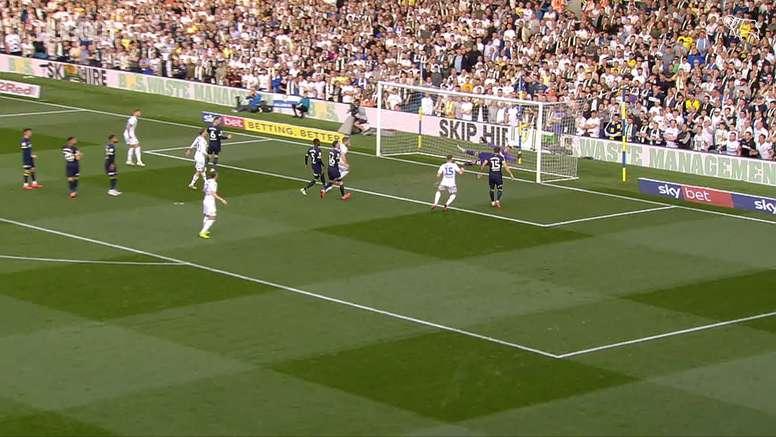 Derby beat Leeds 4-2. DUGOUT