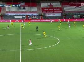 Le superbe but de Lisandro Semedo contre le FC Emmen. Dugout