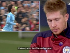 Kevin De Bruyne on his most iconic Manchester City assist. DUGOUT