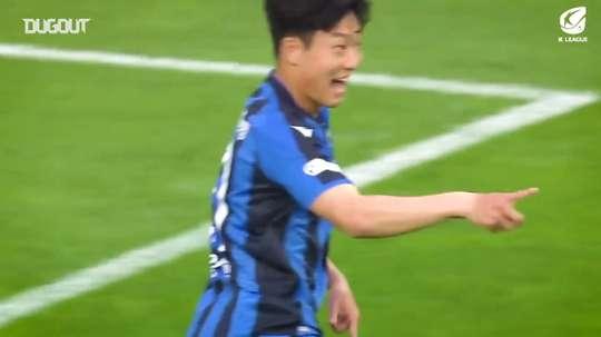 Melhores gols do Incheon United na K-League 2020. DUGOUT
