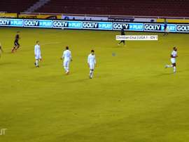 LDU jugó un amistoso ante IDV. Dugout