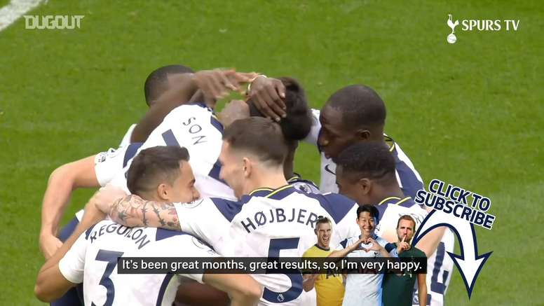 Heung-Min Son 'proud' to win Premier League player of the month award. DUGOUT