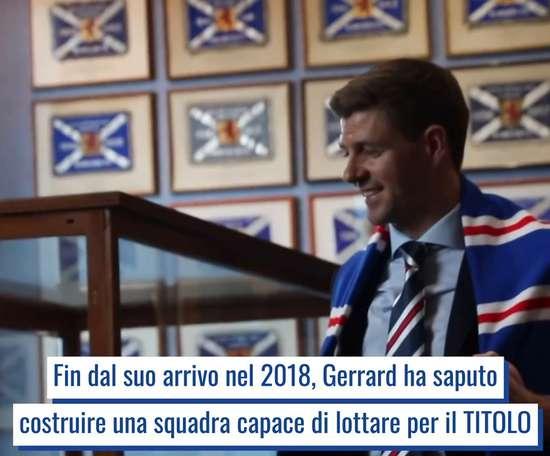 La rivoluzione in panchina di Steven Gerrard. Dugout