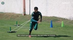 Gabriel compartilha hobby, ansiedade para voltar a jogar e destaca treinos intensos. DUGOUT