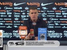 Mancini fala em recuperar a confiança no Corinthians. DUGOUT