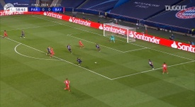 Kingsley Coman's goal gave Bayern Munich a 1-0 win in the Champions League final v PSG. DUGOUT