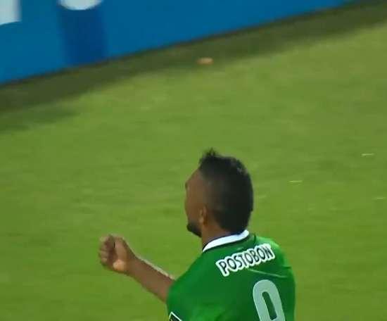 Golazo de Miguel Borja para Atlético Nacional. DUGOUT