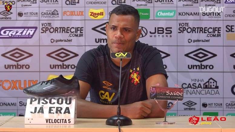 Mikael fala sobre sequência difícil e cobranças no Sport. DUGOUT