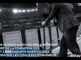 VIDÉO : le robot de la Fondation Paris Saint-Germain. Dugout