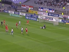 Gomis gave Lyon the three points against Brest back in 2012. DUGOUT