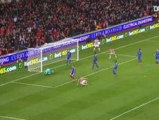 Stoke stunned Chelsea. DUGOUT