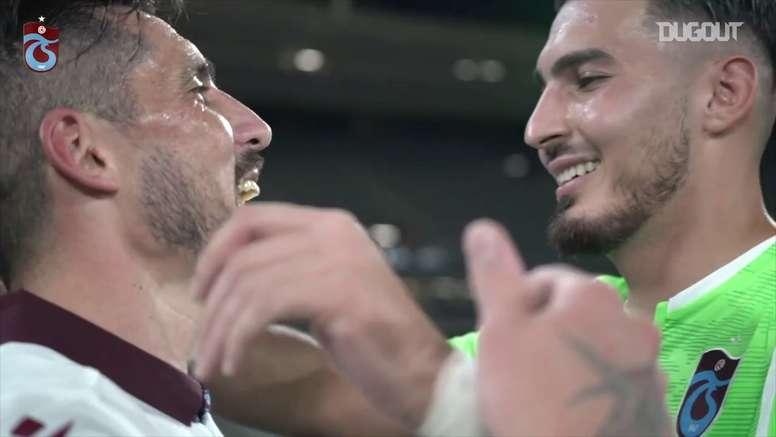 Trabzonspor fatura Copa da Turquia pela nona vez na história. DUGOUT