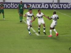 Coritiba draw against Goiás. DUGOUT