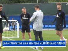 Ascensão meteórica de Vardy à seleção inglesa. DUGOUT