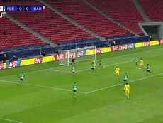 Highlights: Ferencváros 0-3 FC Barcelona. DUGOUT