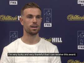 VIDEO: Jordan Henderson crowned FWA Player of the Year. DUGOUT