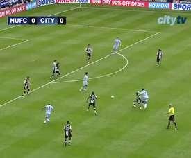 Touré scored a brace for City. DUGOUT