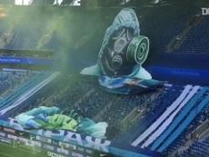 Torcida do Zenit transforma vírus em bola de futebol com moisaco 3D. DUGOUT