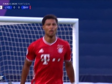 Serge Gnabry's first of two goals v Lyon was brilliant. DUGOUT