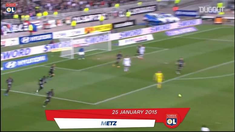 TOP 5 buts de Tolisso avec Lyon. DUGOUT