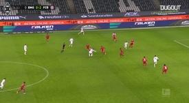 Résumé Borussia M'Gladbach 3-2 Bayern Munich. dugout