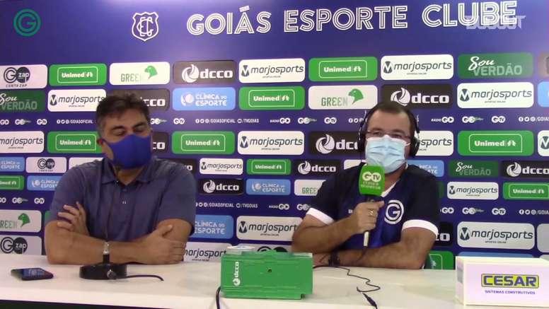 Enderson Moreira terá a sua terceira passagem no Goiás. DUGOUT