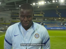 Zouma is looking forward to Thiago Silva's arrival at Chelsea. DUGOUT