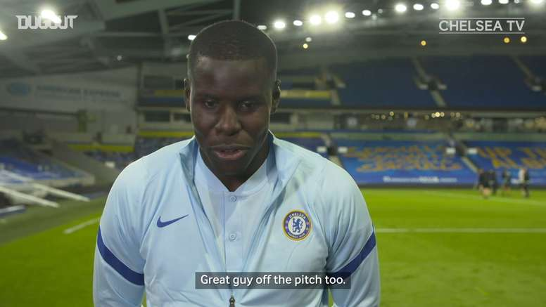 Zouma is looking forward to Thiago Silva's arrival at Chelsea. DUGOUT