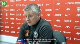 Solskjaer habló de las carencias del United ante el Liverpool. Dugout