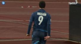 VIDEO: Higuain's last-minute Coppa Italia quarter-final winner vs Inter. DUGOUT