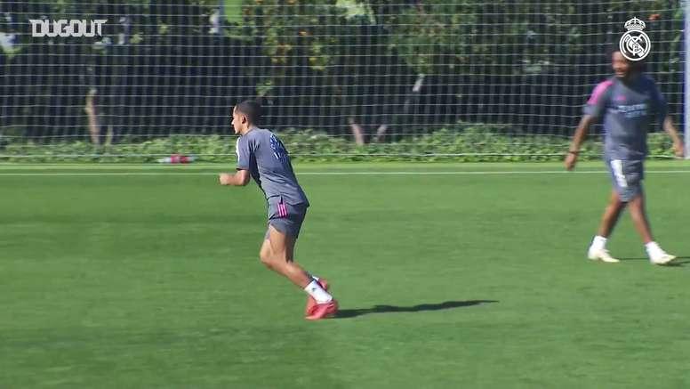 Real Madrid teve semana cheia de treinos durante parada para jogos das seleções. DUGOUT