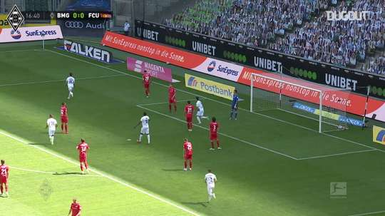 Résumé Borussia M'Gladbach 4-1 Union Berlin. dugout