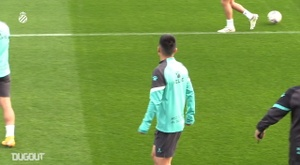 Wu Lei is preparing for Espanyol's match at Fuenlabrada. DUGOUT