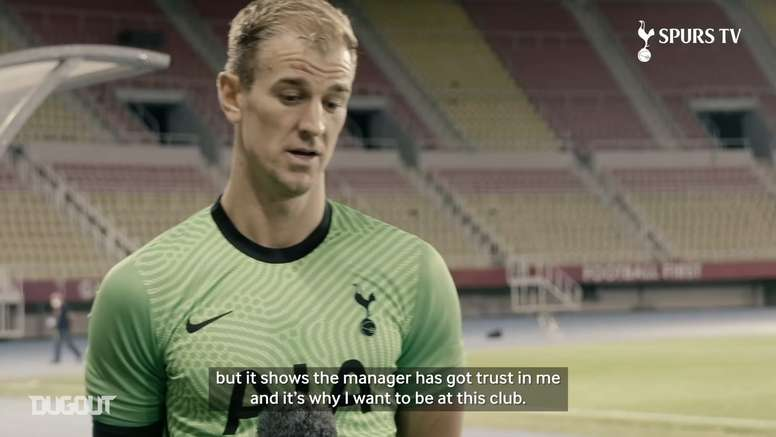 Hart made his Spurs debut
