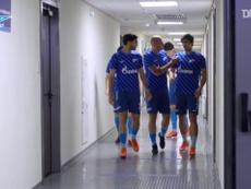 Bastidores da vitória do Zenit sobre o Krylia Sovetov. DUGOUT