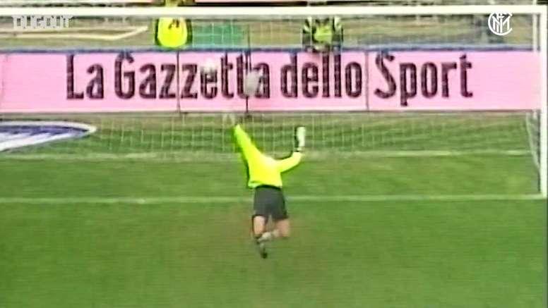 La rete di Ronaldo contro il Brescia. Dugout
