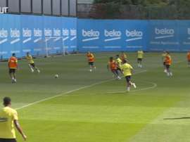 VIDEO: Barcelona's last session ahead of Villarreal clash. DUGOUT