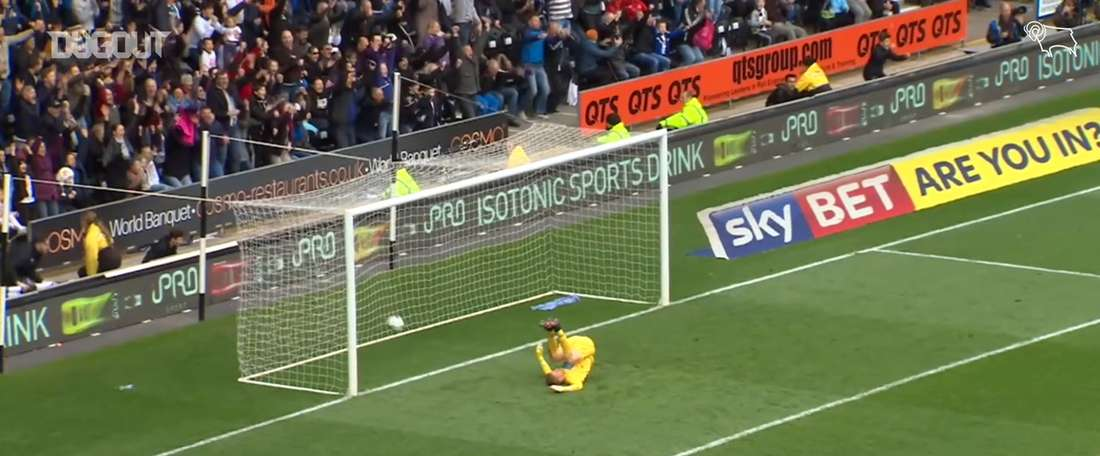 Russell's best goals for Derby. DUGOUT