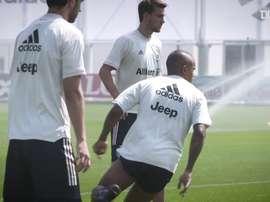 Juventus treina para o clássico de Turim. DUGOUT