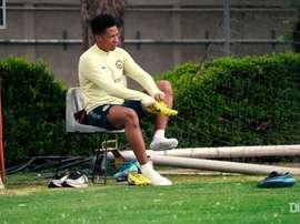 Club América returned to training. DUGOUT