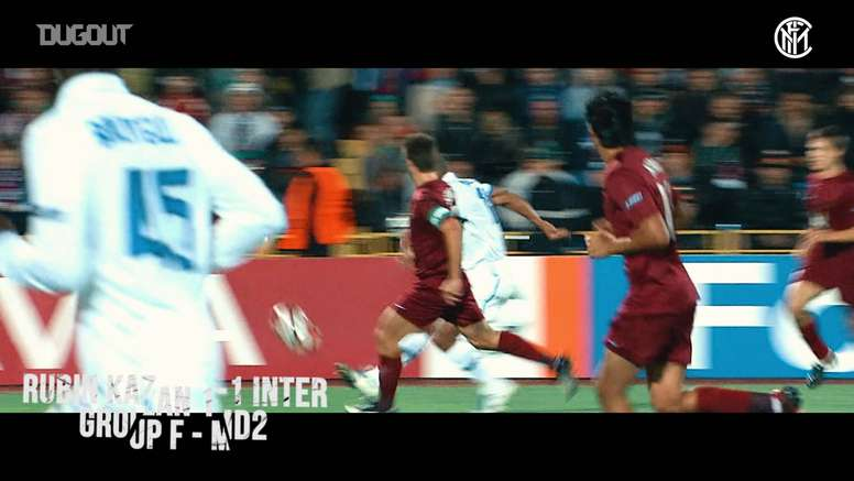 El Inter del triplete hizo 17 goles en esa Champions. DUGOUT