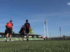 Spanish referees have been training in Madrid ahead of La Liga's return. DUGOUT